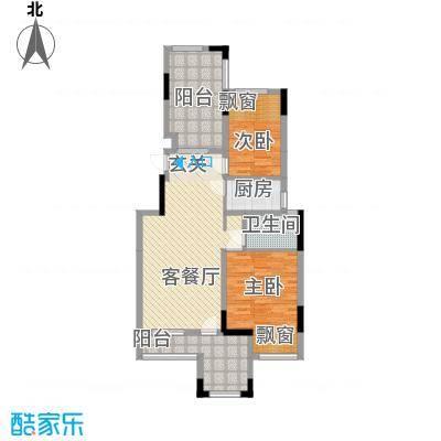 淮北凤凰城E-3F-中间套户型