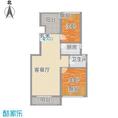 淮北凤凰城E-9F-中间套户型