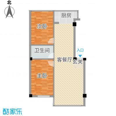 东都屹景户型3室2厅2卫