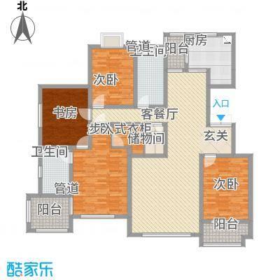 尚东城15.00㎡F户型4室2厅2卫1厨