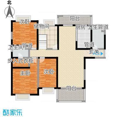 天润碧海湾336.53㎡D栋01复式1F户型6室3厅5卫1厨