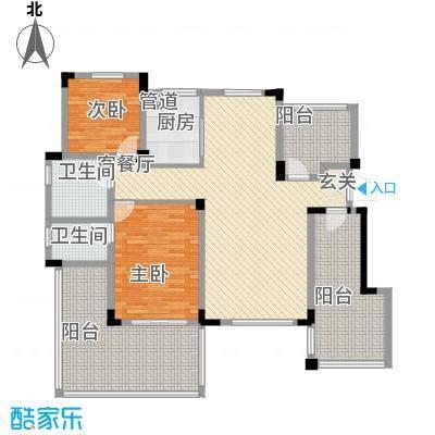 金鹏・爱丽舍宫18.37㎡洋房户型3室2厅2卫1厨