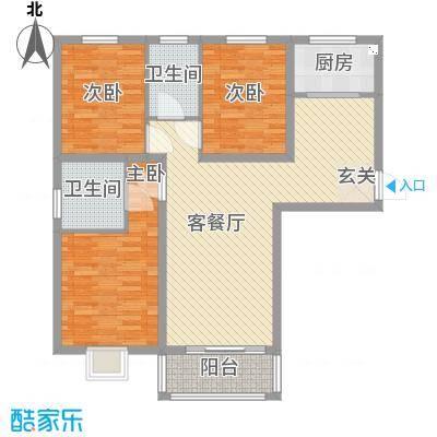 盛弘朗庭11.58㎡12-1-户型