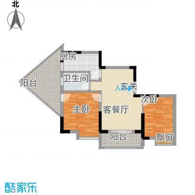 1+8时代广场8.00㎡IMG_20130510_102033户型2室2厅1卫