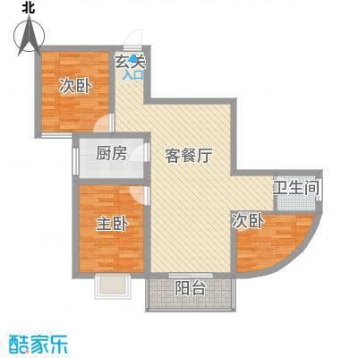 瑞金福邸E户型