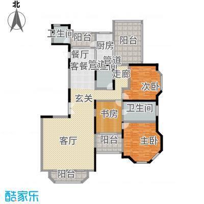 上海滩花园洋房223.00㎡裕龙花园面积22300m户型-副本