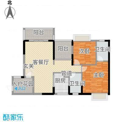 泰禾・江山美地1312.36㎡户型3室2厅2卫1厨