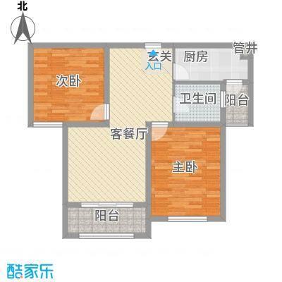 金润城6#7#8#10#11#16#楼B3户型
