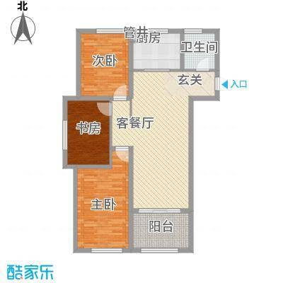 金润城6#7#10#11#16#楼E户型