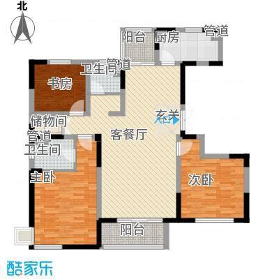 世纪城・江南c1-1户型