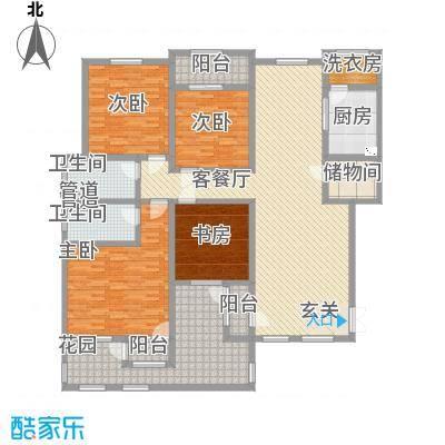 滨江壹号25.77㎡洋房3层效果图户型4室2厅2卫