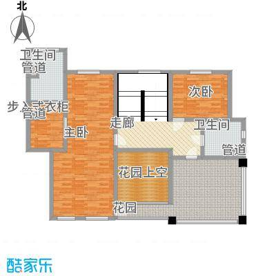 滨江壹号286.61㎡洋房6层效果图户型6室2厅4卫