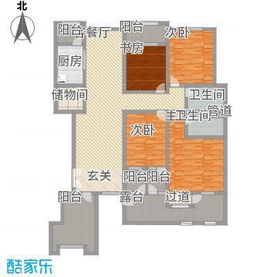 滨江壹号23.40㎡户型4室2厅2卫