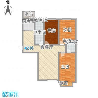 泰丰时代城二期128.70㎡泰丰户型