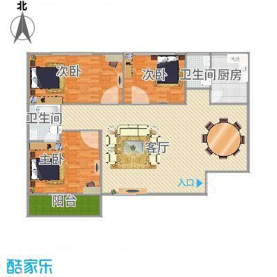 信阳_幸运小区-162平-3居室_2015-09-04-1836