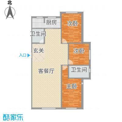 鑫城广场147.32㎡B户型