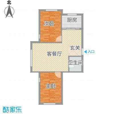 鑫城广场6.57㎡B户型