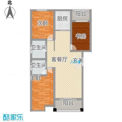 安阳义乌商贸城二期135.00㎡住宅D1户型4室2厅2卫1厨