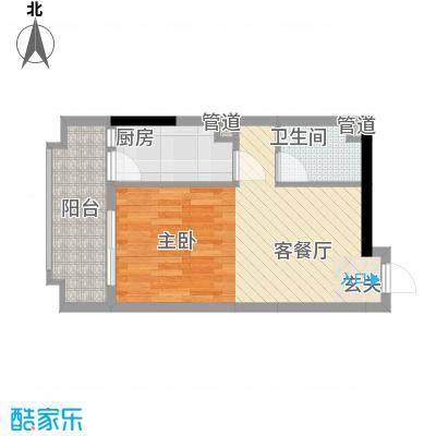 锦绣华景44.00㎡1门0户型