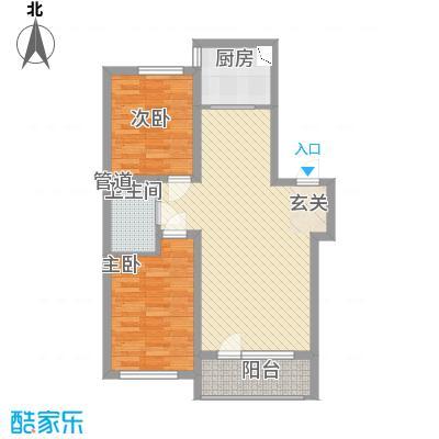 世纪新园・悦园87.88㎡户型
