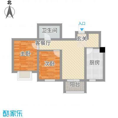 歌华中奥广场・中奥花园7.00㎡户型