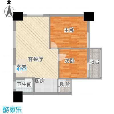 创基大厦B2户型