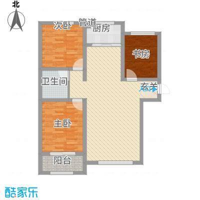 清山・漫香林122.63㎡C户型3室2厅1卫