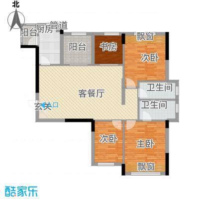 大华・富贵世家2.20㎡2#一单元02、03号房户型