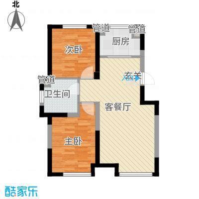 新湖青蓝国际12#B2户型
