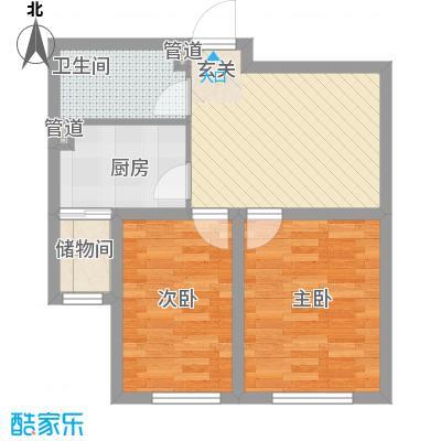 南风新苑64.68㎡户型