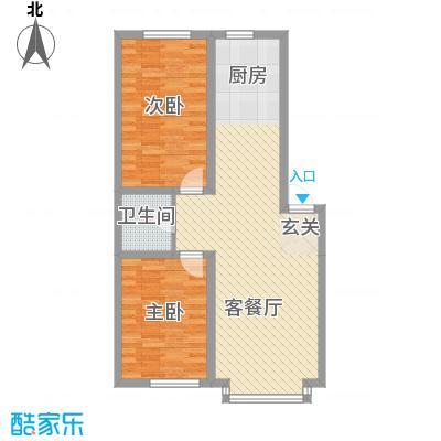 南风新苑84.50㎡户型