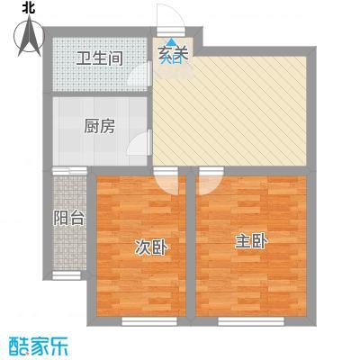 南风新苑63.00㎡户型