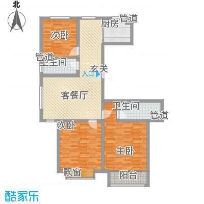 泰丰时代城二期135.66㎡泰丰户型