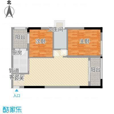 锦绣华景83.00㎡1门0户型