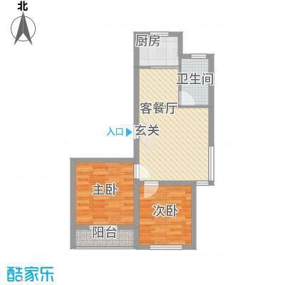 世纪新园・悦园72.86㎡户型