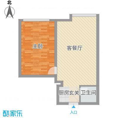 艺馨华园61.00㎡61户型