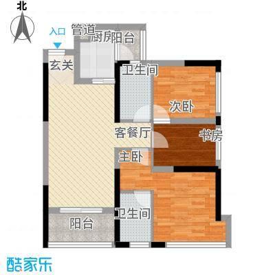 三盛颐景园9-10座02/03单元户型