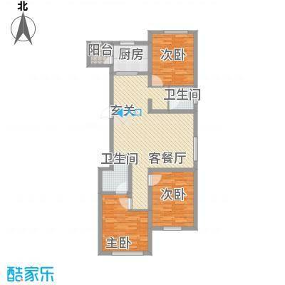 广厦新城124.00㎡锦峰31户型