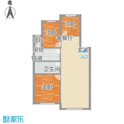 东方之珠龙翔苑D户型