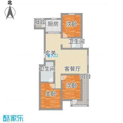 广厦新城135.00㎡锦峰31户型