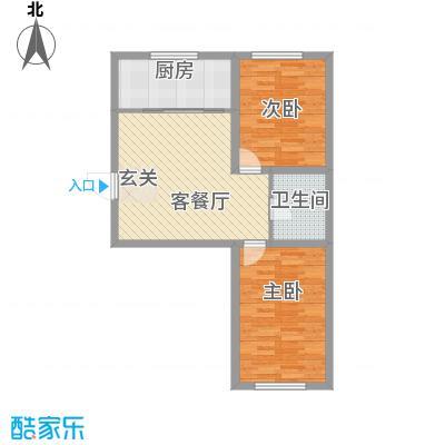 金城福邸85.00㎡户型