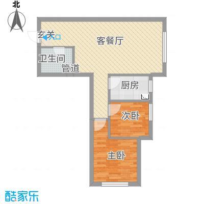 辽阳凯旋门广场72.21㎡户型