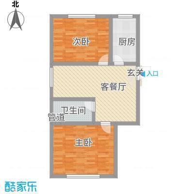 天成家园84.67㎡84西(8467)户型
