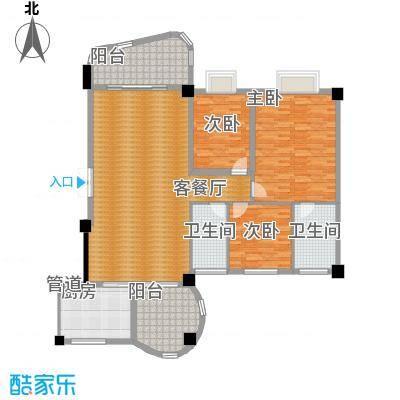丽日豪庭 3室 户型图-副本