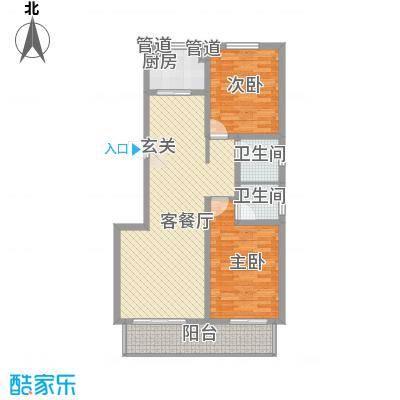 沧州孔雀花园小区(原王官屯旧城改造)15-A副本户型