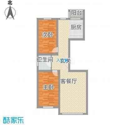 南山秀水18.50㎡高层7#户型