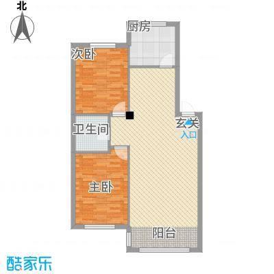 金城福邸4.00㎡户型