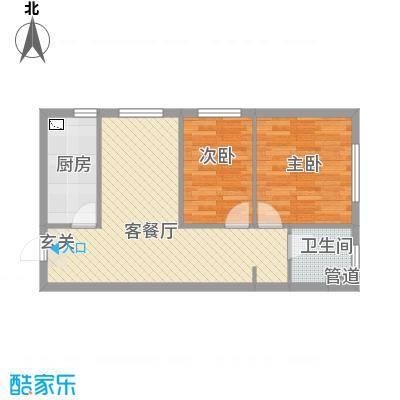 辽阳凯旋门广场71.18㎡户型