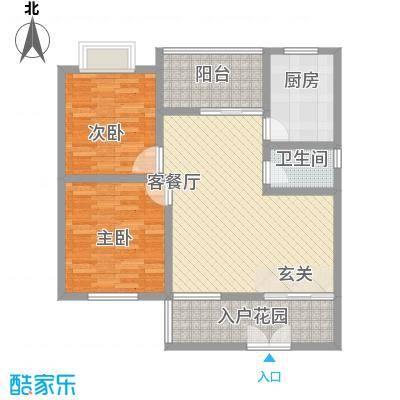 凯丽滨江84.73㎡户型