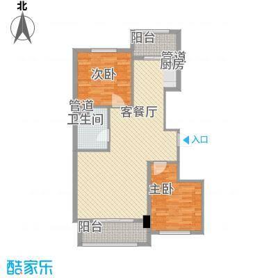 新浦家园15.00㎡户型